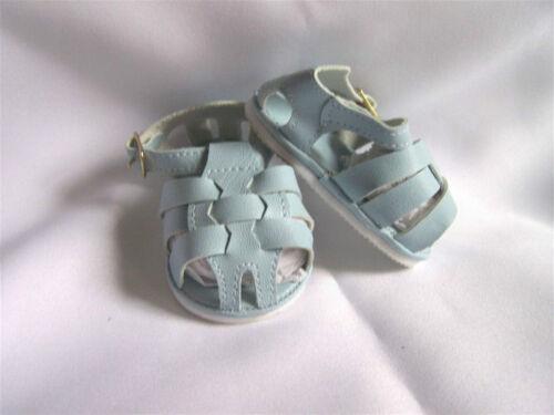 Doll Fisherman Sandals Blue  85 mm Reborn ~ REBORN DOLL SUPPLIES