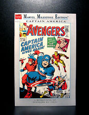 COMICS: Marvel Milestone Edition: Avengers #4 (1990s) - Captain America joins