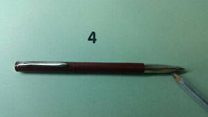 Penna-a-sfera-plastica-metallo-rosso-ricaricabile-inch-blu-cf-6-pz