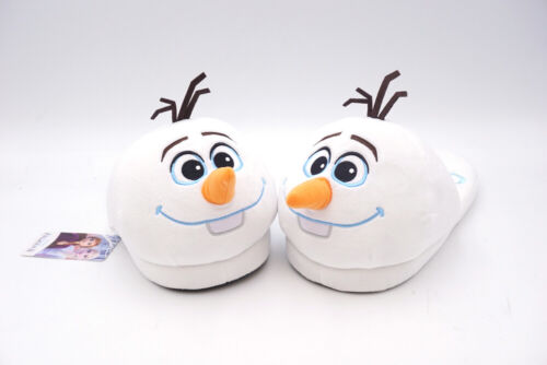 Disney Frozen Olaf House Home Indoor Women/'s Plush Shoes Slippers US 8-9