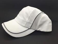 White Beechfield Original Cap Men Womens Baseball Cap Cool Max Adjustable Tennis