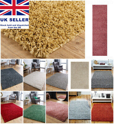 Shaggy Living Room Area Rugs Online Small To Large Soft 4 5cm Thick Pile Rug Mat Ebay
