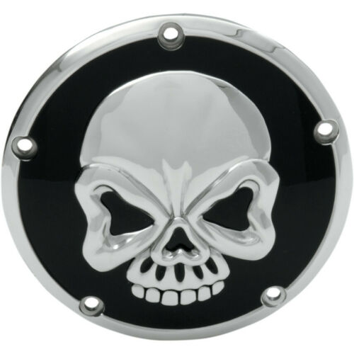 3D Skull Points Cover Gold /& Black 5 Holes Harley Twin Cam Touring 1999-2015