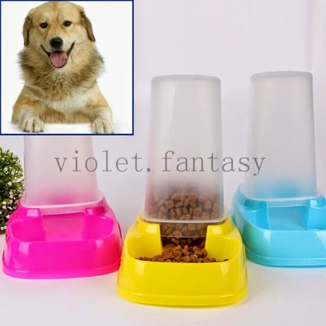 Quality Dog Cat Pet Automatic Feeder Timer Water Food Dish Bowl Feeder Dispenser