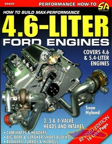 Ford 4.6 5.4 Engine Manual Lincoln Mercury How to Build Shop Service Performance  for sale online | eBayeBay