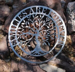 Families-are-Forever-Olive-Tree-Metal-Wall-Art-Silver-Polished-Steel-16-034