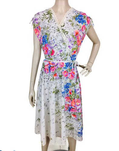 Avon Satin Camisole Floral Size Medium Vintage Avon Intimates