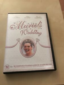 Movie-DVD-Muriel-039-s-Wedding-Toni-Colette-Great-Watching-Cheap