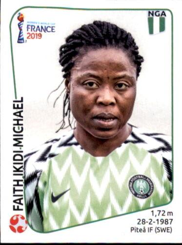 Panini Frauen WM 2019 Sticker 86 Nigeria Faith Ikidi Michael