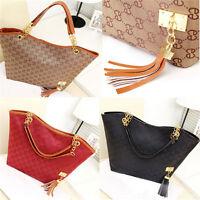 New Lady Women Hobo Shoulder Bag Messenger Purse Satchel Tote Tassel Handbag