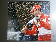 2004 Grand Prix of Spain Ferrari Formula 1 Schumacher Print Picture Poster RARE!