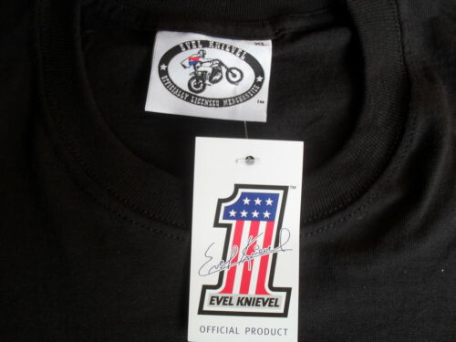 Evel Knievel Motorcycles T Shirt