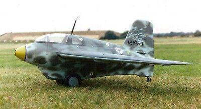 Bauplan Me 163B Modellbau Modellbauplan Elektro-Motorflugmodell