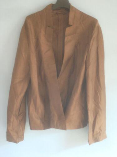 quasi Silk nuova 36 Blusa Jacket Sander Jil 100 FYPwxqzET