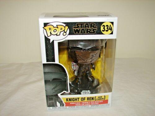 Arm Cannon Star Wars The Rise of Skywalker: Knight of Ren Funko Pop #334 NEW!