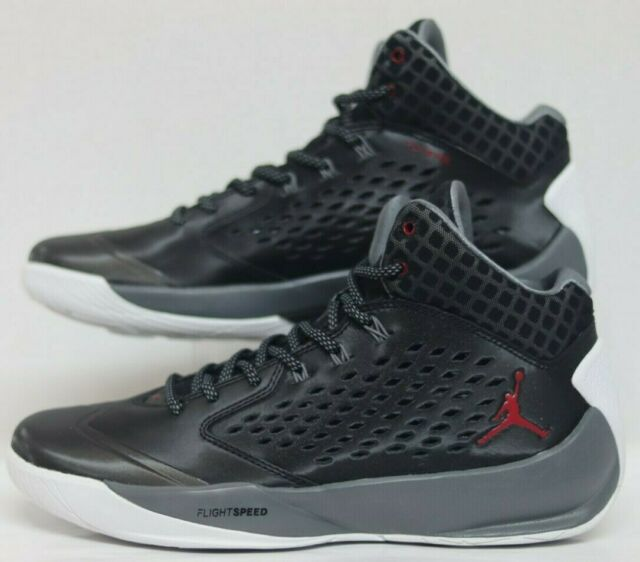 sale retailer 99cfa 7cebd Jordan Rising High Black GYM Red-Cool Grey-White 768931-004 Men Size's