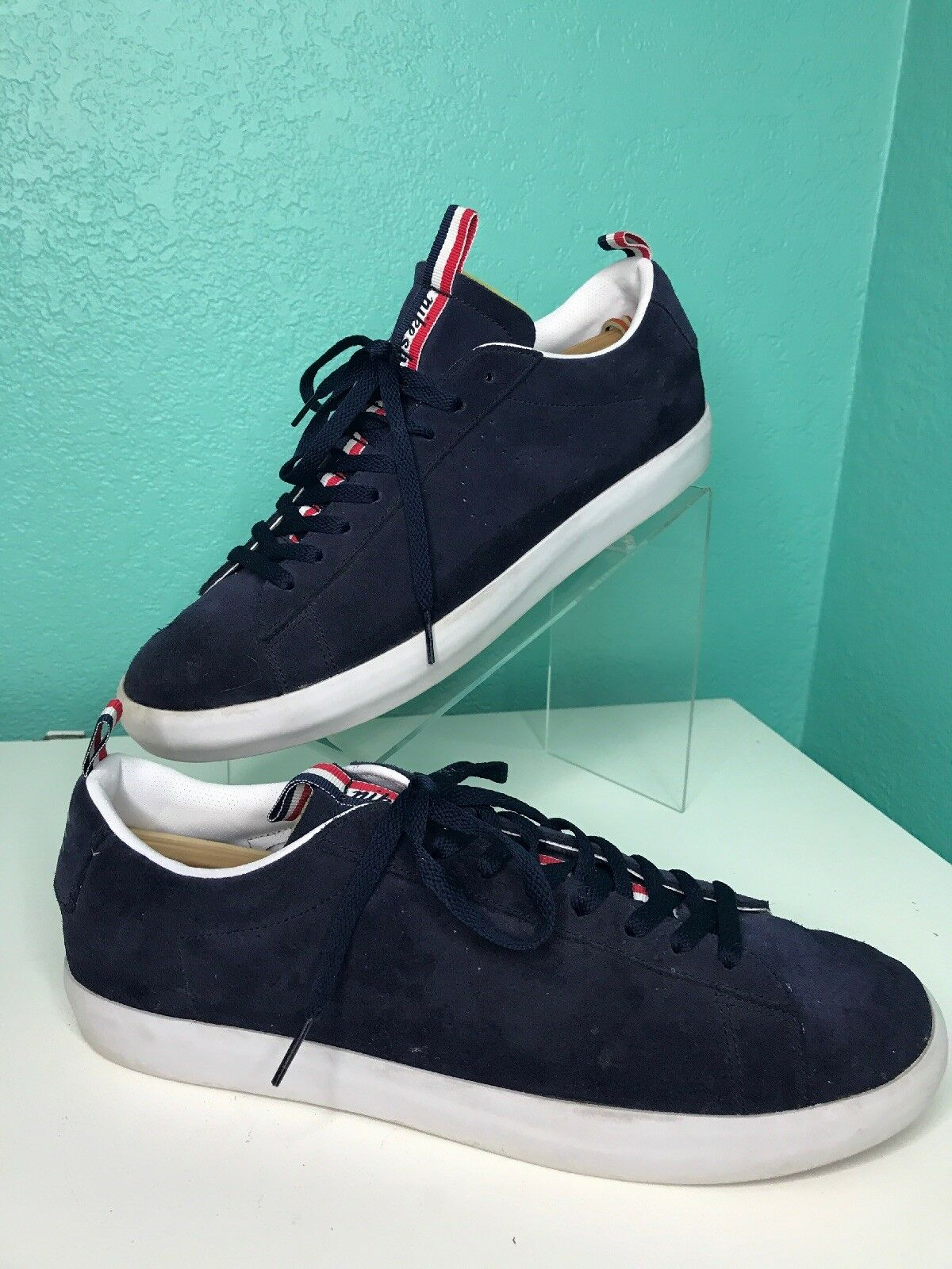 Nike Blazer Low PRM QS SB Country Club 874688 441 Nav Wh Men's Sz 11.5
