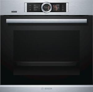Bosch HRG6769S6 EEK: A Einbau-Backofen, 71l, 4D Heißluft, Umluft-Infra-Grill, Py