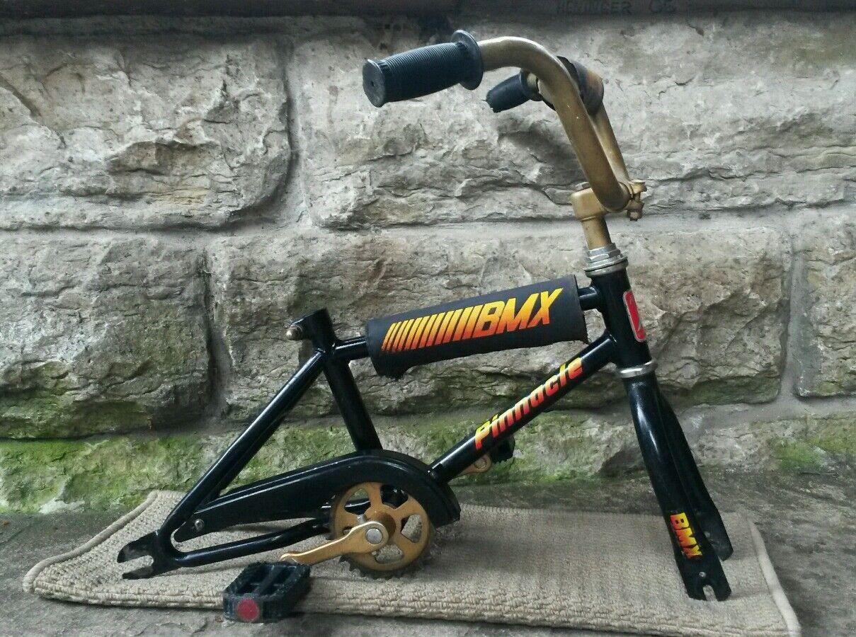 Vintage Mini Looptail BMX 12  Frame Fork Handlebars Old School Pinnacle