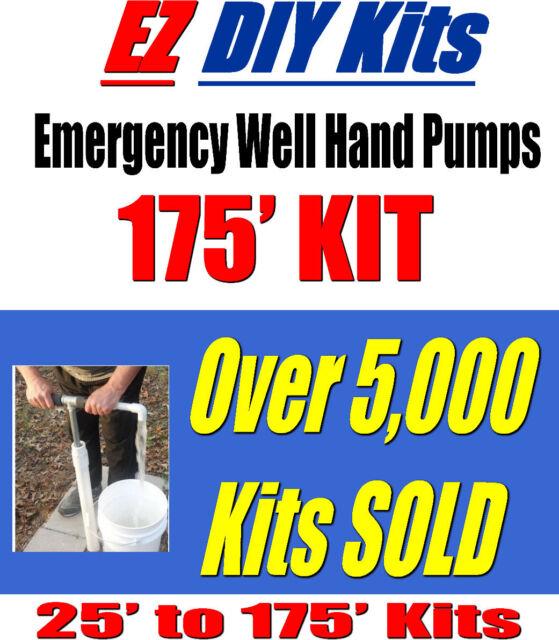 Hand Well Pump - DIY Well Hand Pump KITS