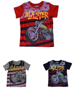 buy popular c15ce 0f9ef Details zu Kinder TShirt Neu Jungen TShirt Kinder T-Shirt Jungen T-Shirt  *COOL* Shirt