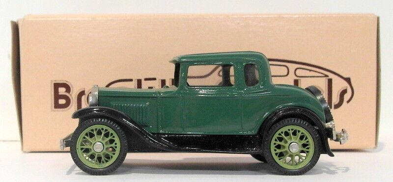 Brooklin 1 43 Scale BRK5A 003A  - 1930 Model A Coupe Dark verde