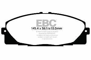 Compact Power Van DPX2114 EBC Ultimax Front Brake Pads fit TOYOTA  Hi-Ace