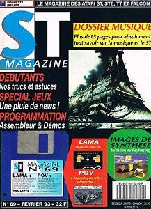 St Magazine N°69 Fev 1993 : Dossier Musique Soulager La Chaleur Et La Soif.