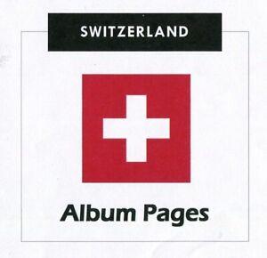 Switzerland-CD-ROM-Stamp-Album-1843-2017-Album-Pages-Classic-Stamps-Illustrated