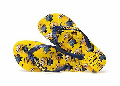 Minion Havianas Flip Flops kids size 6-7