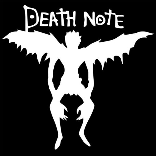 Death Note Angel Sticker Car Bumper Auto Motorcycle Window Truck Vinyl Decal