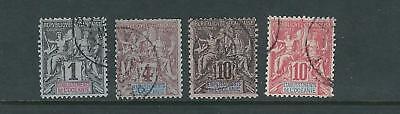 scott 1 3 6-7 WohltäTig Französisch Polynesien 1892-1907 Navigation Und Handelskammer F