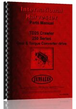 International Harvester Crawler Parts Manual Ih P Td25 250