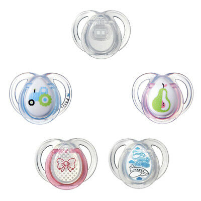 Pacifier Holder Box Nipple Soother pod Knya 3 Pack Baby Dummy Case
