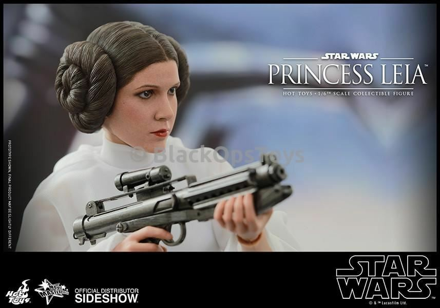 1 6 scale Sideshow Exclusive Star Wars Princess Leia Mint In Box