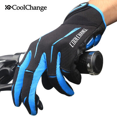 Cycling Breathable Touchscreen Gel Gloves Silicone Warm Full-Finger Texting