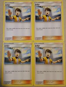 Pokemon 4X TRAINER JUDGE 108//131 UNCOMMON MINT CARD