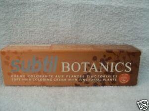 Image Is Loading Subtil Botanics Ppd Free Resorcin Soft Hair