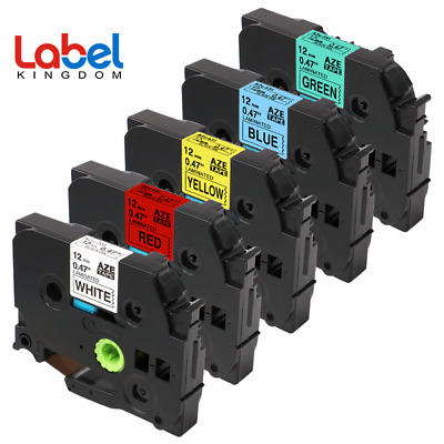 5PK TZ-231 TZe-231 431 531 631 731 Compatible for Brother P-Touch Label Tape12mm