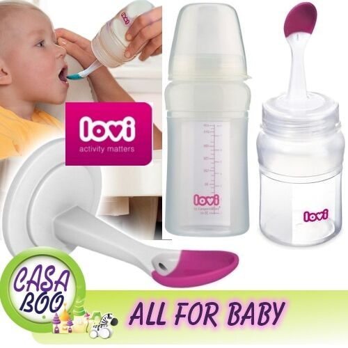 Multifonction Baby Bouteille avec soft Bol Cuillère dogovorio facile Squeezy contient brosse