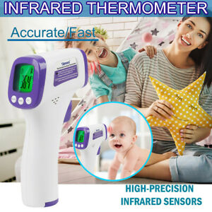 Infrared-Forehead-Thermometer-No-Touch-Adult-Temperature-Fever-LCD-Digital-Temp