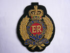 Royal Engineers Wire Embroidered Bullion Blazer Badge - British Army