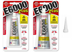 COLLA-E6000-PLUS-CRYSTAL-CLEAR-Craft-NUOVO-Adesivo-LEGNO-VETRO-TESSUTO-CERAMICA-gemme