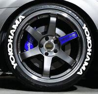 Tire Letters - 3/4 Inch Tall - Low Profile - Yokohama