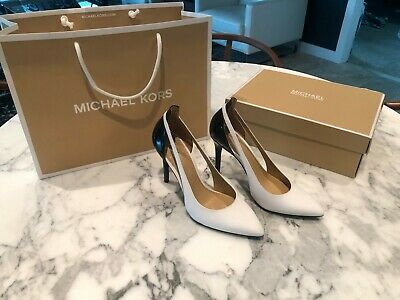 Michael Kors Cersei Two-Tone Leather