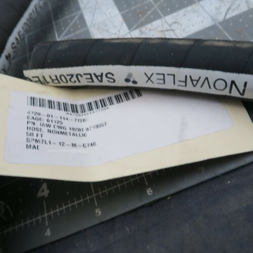 """275˚F 50 Foot Roll 5//8/"""" 4-Ply Wrapped HIGH-TEMP COOLANT HEATER HOSE 40˚F To"""