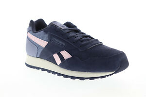 Reebok-Classic-Harman-Run-DV8912-Womens-Blue-Suede-Lifestyle-Sneakers-Shoes-5-5