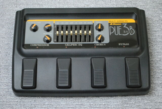Maxon PUE3B BASS Multi Effects Pedal made in Japan Vintage