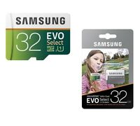 Micro Sd Memory Card 32 Gb Samsung Evo Select 95mb/s Sdhc Smartphones Camera