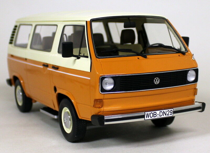 ClassiXX 1  18 skala VW Volkswagen T3 buss orange Ivory hkonsts modellllerl van